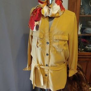 """Mustard Belted Tunic """"H M Concious"""""""